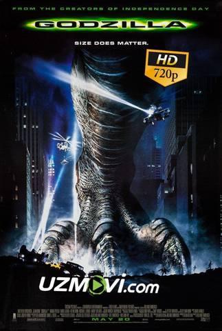 Godzilla 1998 uzbek tilida