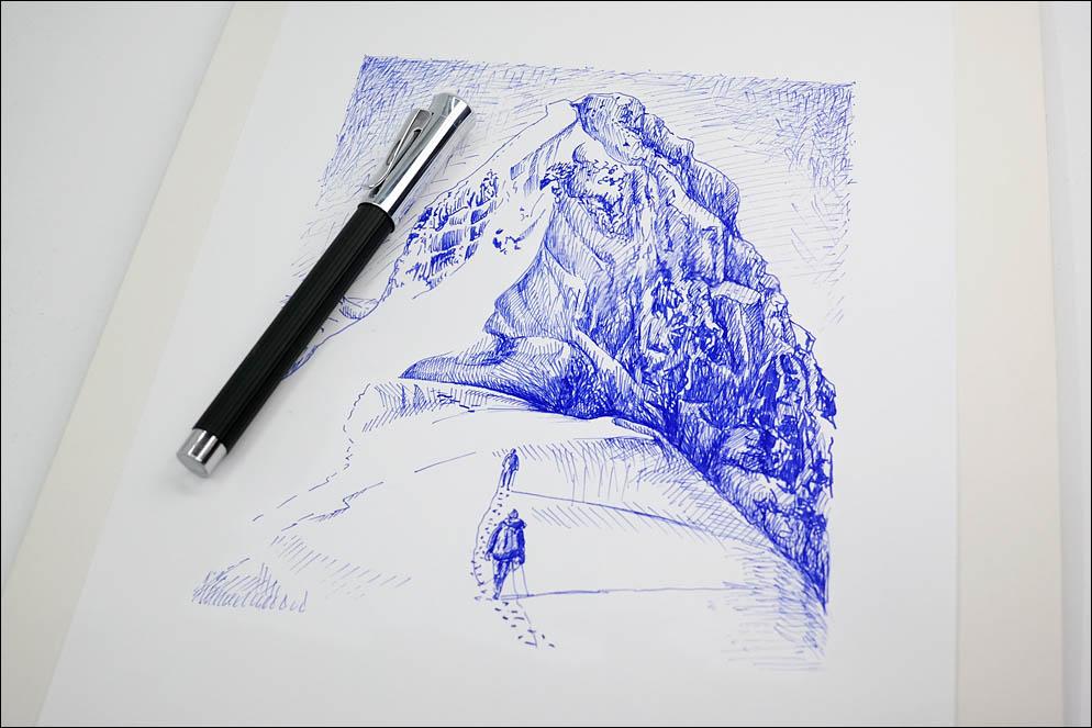 Graf von Faber-Castell Tamitio Black. Lenskiy.org