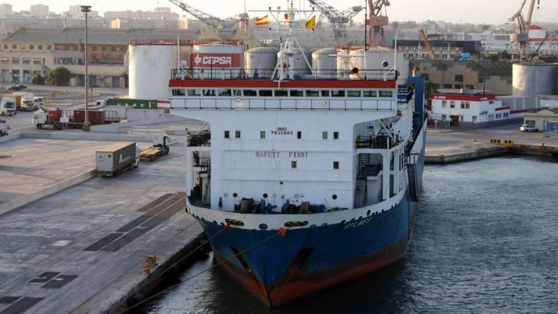 Порт Джурджулешты принимает корабли
