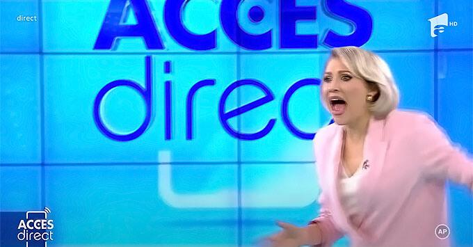 Голая женщина напала на телеведущую в прямом эфире - Новости радио OnAir.ru