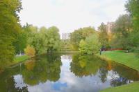 Большой пруд в Воронцовском парке. Фото Морошкина В.В.