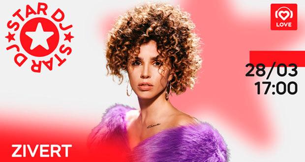 STAR DJ в эфире Love Radio: ZIVERT и ее любимые треки - Новости радио OnAir.ru