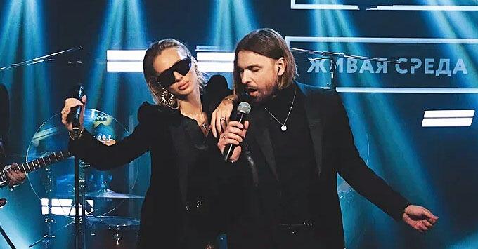 LOBODA дала live-концерт на «Новом Радио» и рассказала о личном