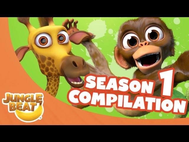 Jungle Beat Season 1 One Compilation [Full Episodes]