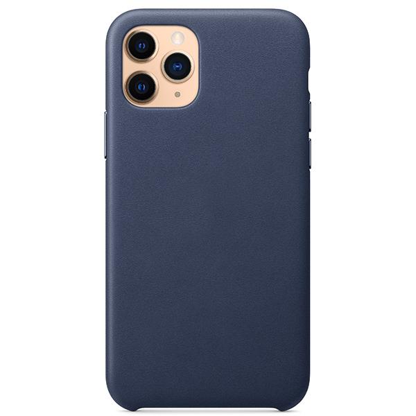 Чехлы Leather Case на Iphone 11