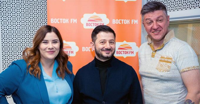 Михаил Галустян стал гостем шоу «Восточный экспресс» на «Восток FM»