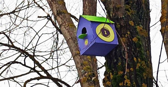 «Радио 1» приняло участие в акции «Домик для птиц» в Мелихове - Новости радио OnAir.ru