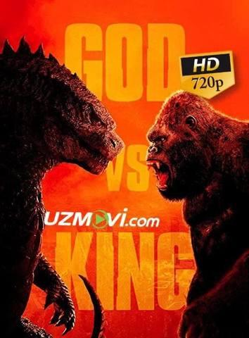Godzilla Kongga qarshi premyera uzbek o'zbek tilida