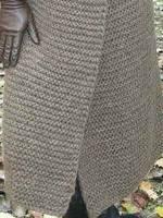 Пальто платочной вязкой 1в