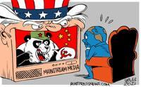 СМИ штатов лгут, запугивая мнимыми «коммунистическими» угрозами от Китая