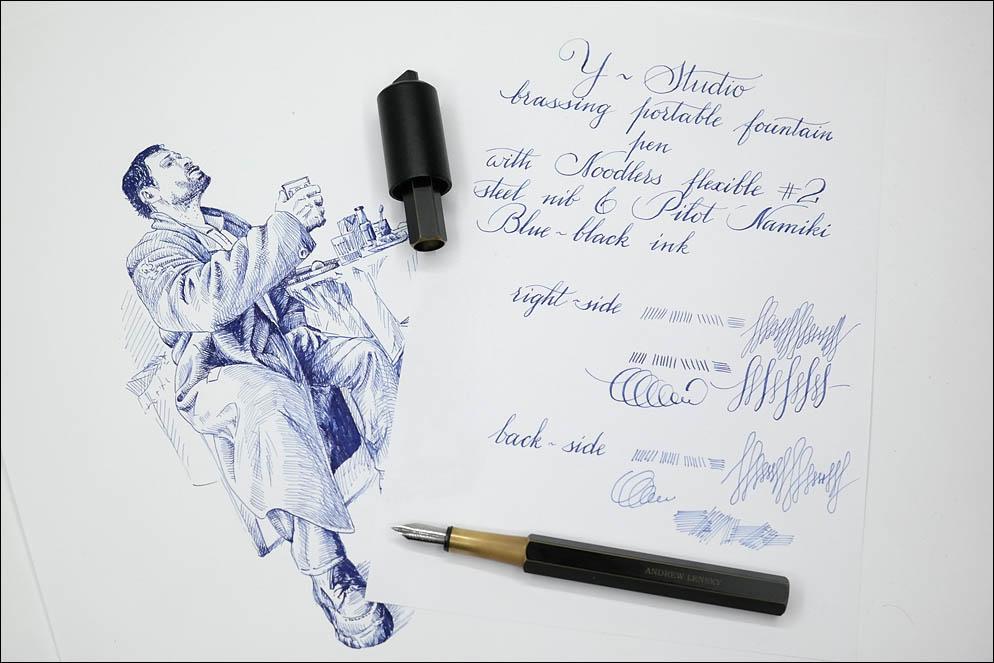 Pilot Namiki Blue-Black. Lenskiy.org