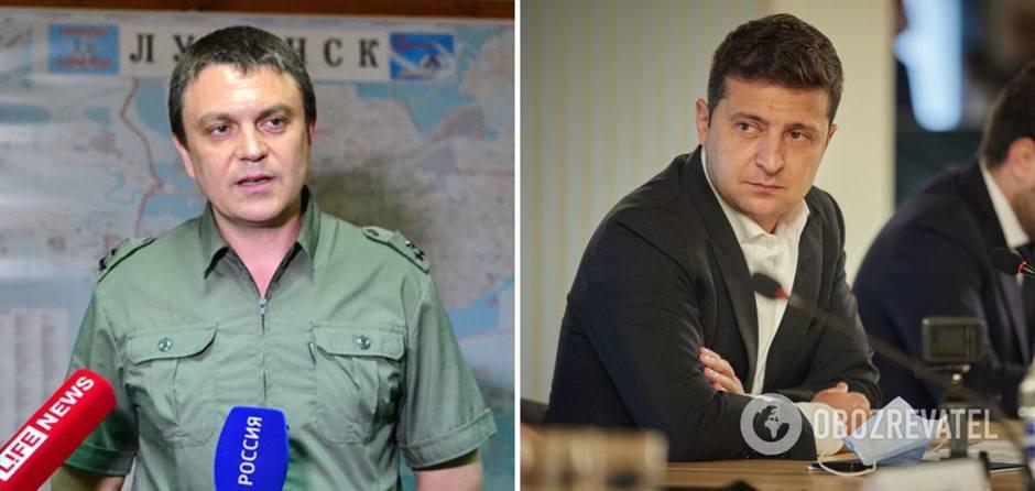Украина, Донбасс, Воин Пасечник и клоун Зеленский