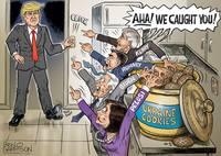 Коррупция в Украине. Обама, Байден, Сорос, Шифф, Болтон, Пелоси, Керри, Ромни, Клинтон