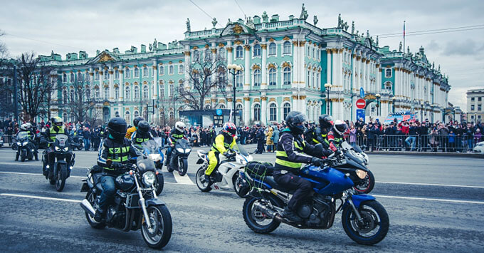 При поддержке «Авторадио» в Петербурге открыли мотосезон