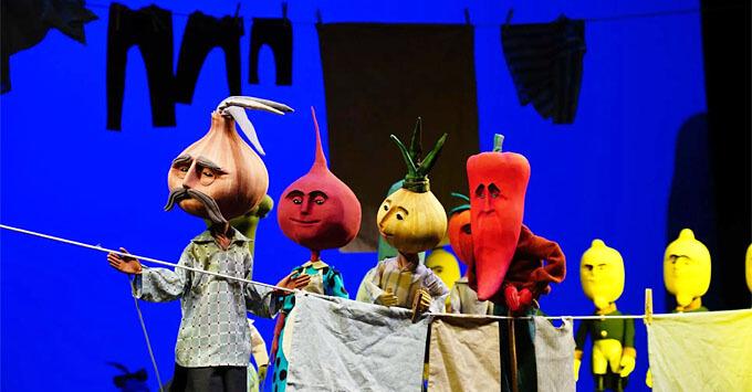 Детское радио приглашает в Театр Образцова – на премьеру «Чиполлино» - Новости радио OnAir.ru