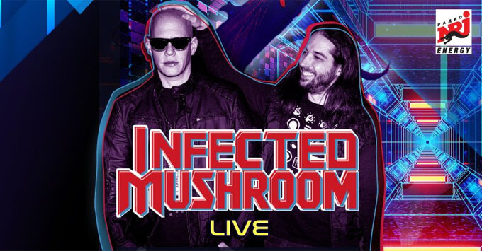 Радио ENERGY разыграет билеты на концерт Infected Mushroom - Новости радио OnAir.ru