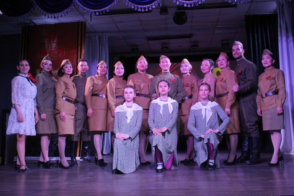 Праздничное мероприятие в честь 76-ой годовщины Победы в Великой Отечественной войне.