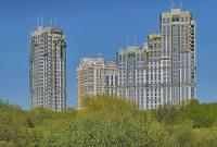 Новые здания на Веерной ул. Фото Морошкина В.В.