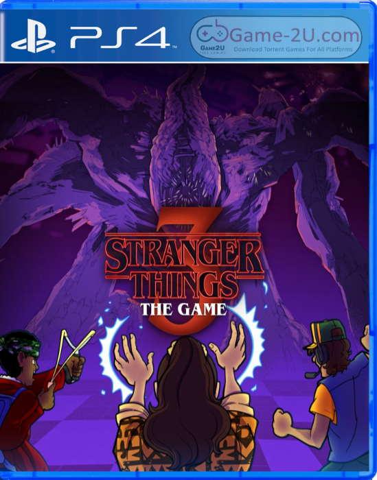 Stranger Things 3: The Game PS4 PKG