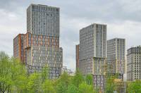 Здания у Рублёвского шоссе. Фото Морошкина В.В.
