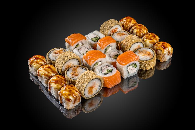 Коллеция суши в боксе