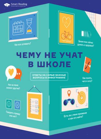 Обложка книги Smart Reading - Чему не учат в школе. Ответы на самые важные вопросы в инфографике [2020, PDF, RUS]