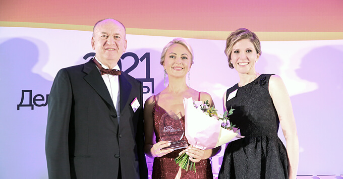 Генеральный директор «Русской Медиагруппы» Любовь Маляревская – победитель конкурса «Деловые женщины 2021» по версии EY