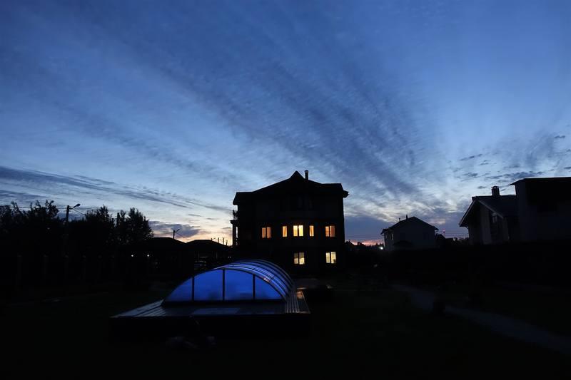 Вечерняя дача