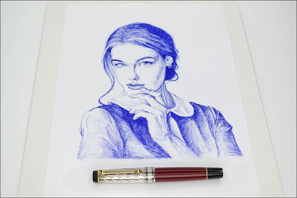 Bogdana Kadritskaya by Sean Archer. Lenskiy.org