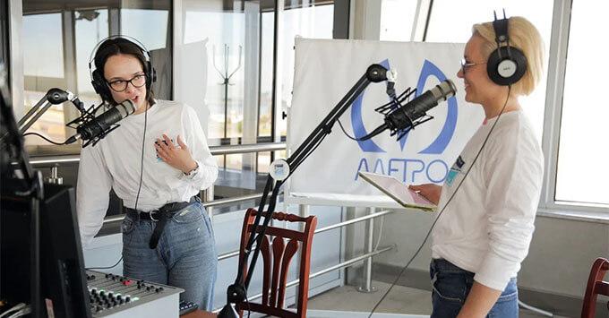 Ведущие «Радио Зенит» стали голосом открытия станции метро «Зенит» - Новости радио OnAir.ru