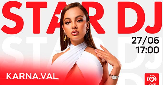 STAR DJ в эфире Love Radio: Валя Карнавал и ее любимый плейлист - Новости радио OnAir.ru