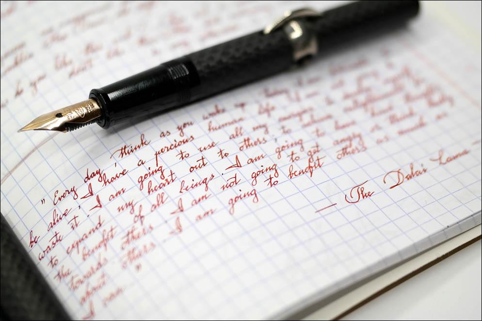 Conklin Omniflex #6 to Italic EF. Lenskiy.org