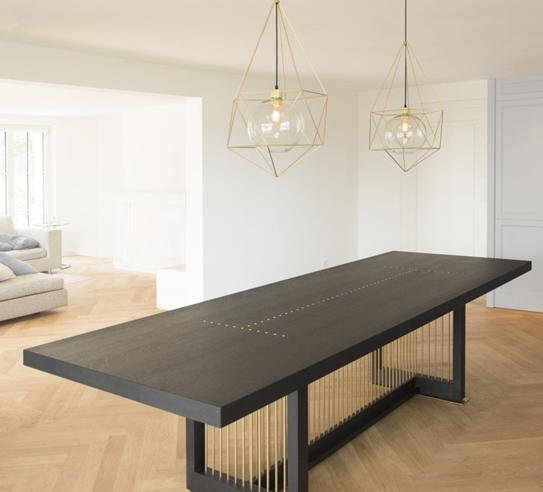 трехметровый обеденный стол