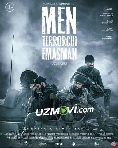 Men terrorchi emasman premyera uzbek kino
