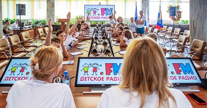 В «Орлёнке» завершила работу «Школа Детского радио» - Новости радио OnAir.ru