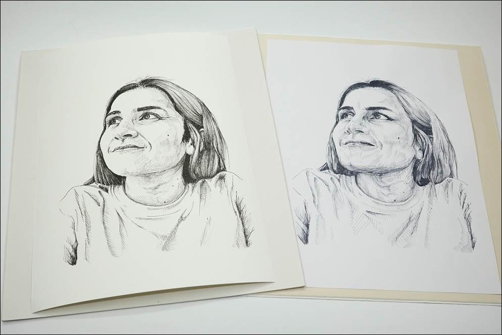 Sketch vs Drawing. Lenskiy.org