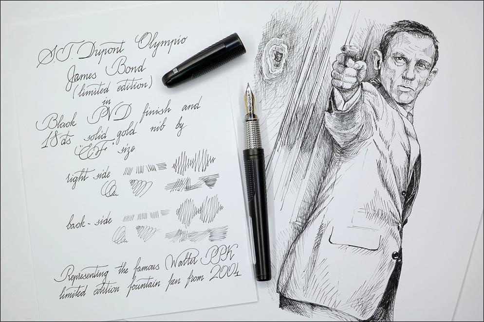 S.T.Dupont Olympio James Bond LE 2004 w|black PVD. Lenskiy.org