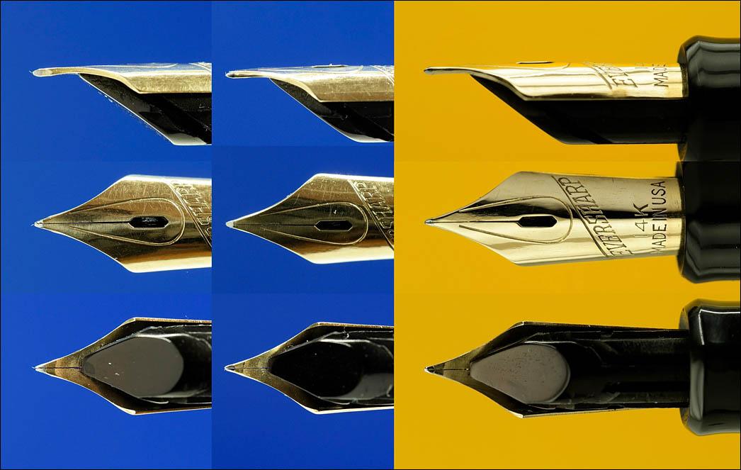 Columbia w|Eversharp nib ground to UEF. Lenskiy.org