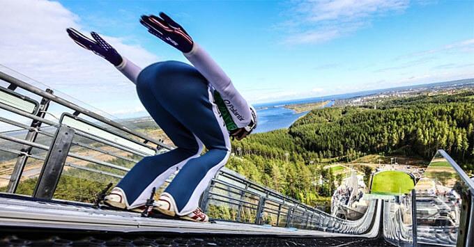 Радио ENERGY выступило партнером летнего Гран При по прыжкам на лыжах с трамплина - Новости радио OnAir.ru