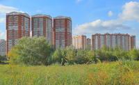Здания возле Медцентра МГУ. Фото Морошкина В.В.