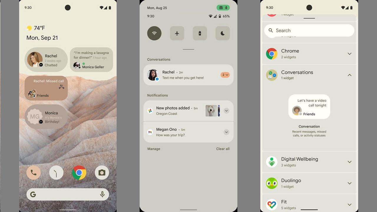 Какие обновления получит Android 12