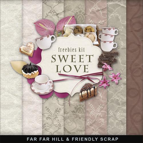 Scrap Kit - Sweet Love