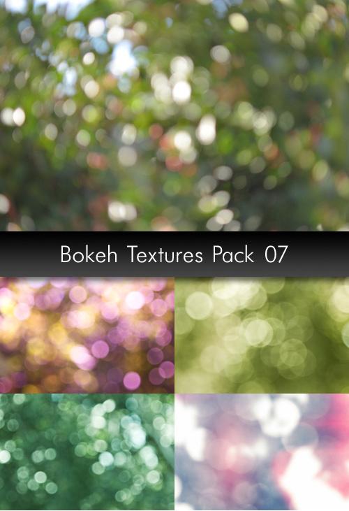 Bokeh Textures, pack 7