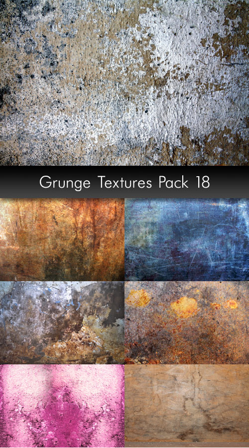 Grunge Stock Textures, pack 18