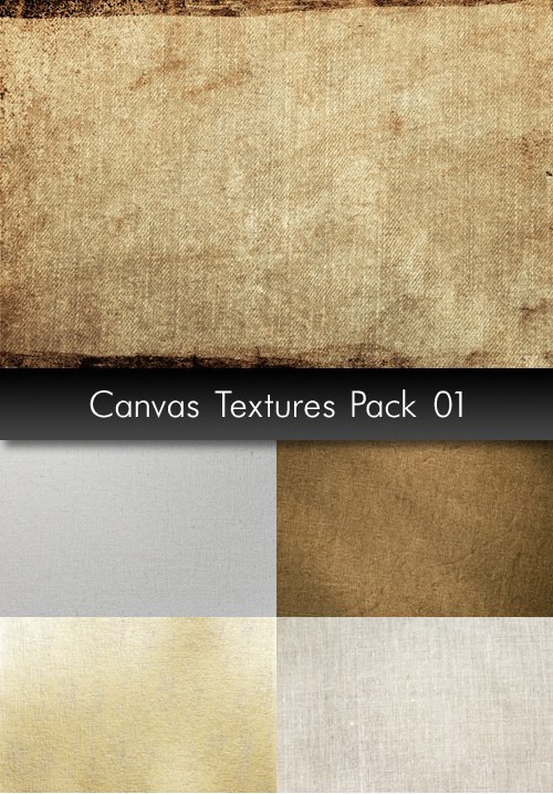Canvas Textures, pack 1