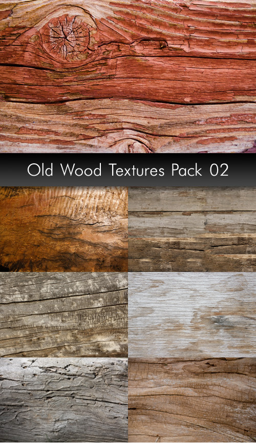 Old Wood Textures, pack 2