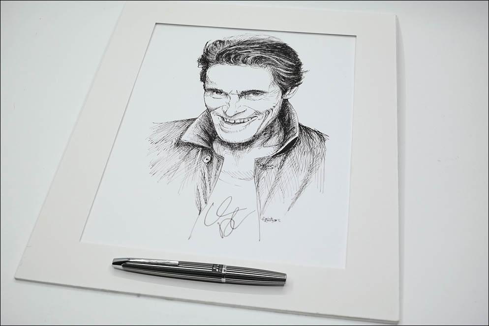 Evil smile by Willem Dafoe. Lenskiy.org