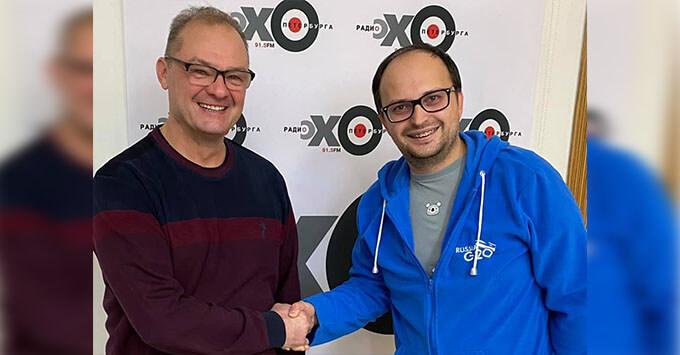 Андрей Радин вступил в должность гендиректора радиостанции «Эхо Петербурга» - Новости радио OnAir.ru