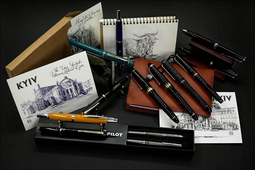 My Pilot's pens family. Lenskiy.org