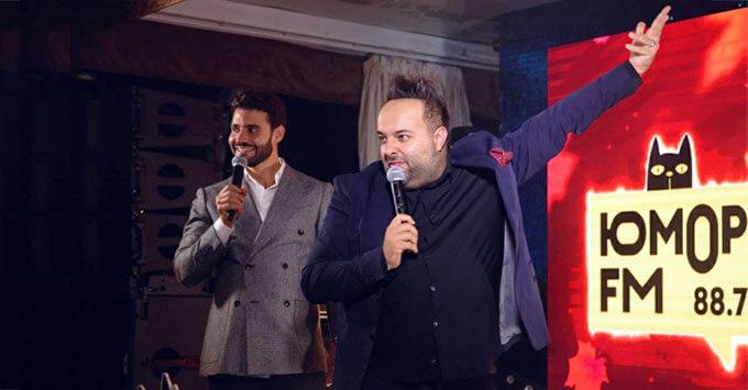 День рождения «Юмор FM» отметили вечеринкой на теплоходе